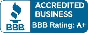 A+ Rated Accredited Business Certificate